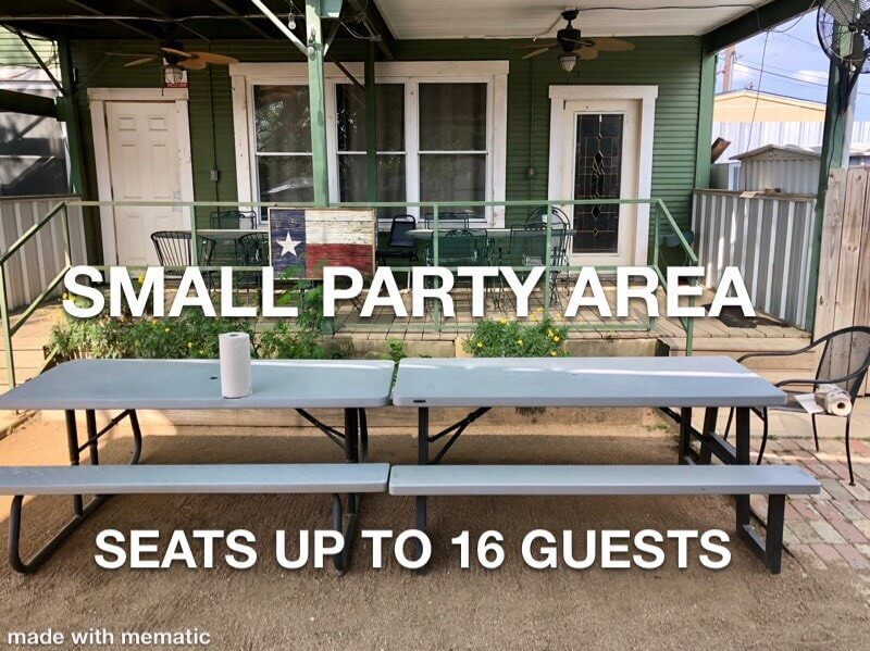Small Party Area